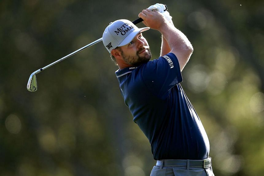 Ryan Moore during the first round of the Valspar Championship in Palm Harbor, Florida, on March 10.