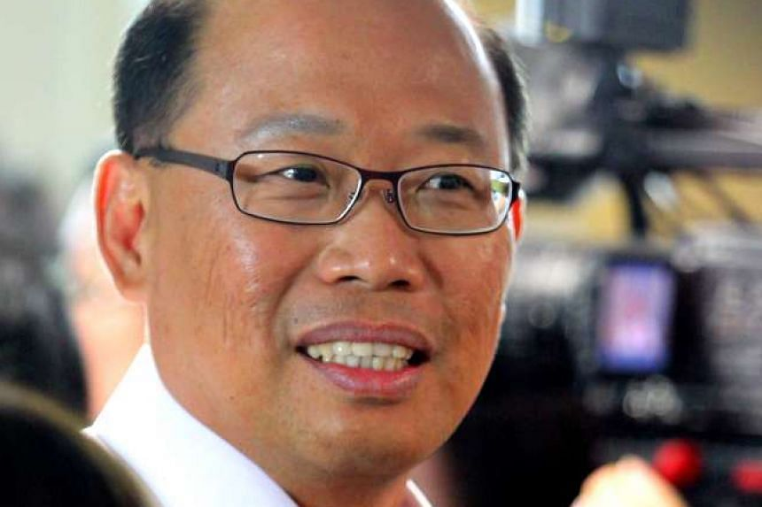 Mr David Ong in 2011.