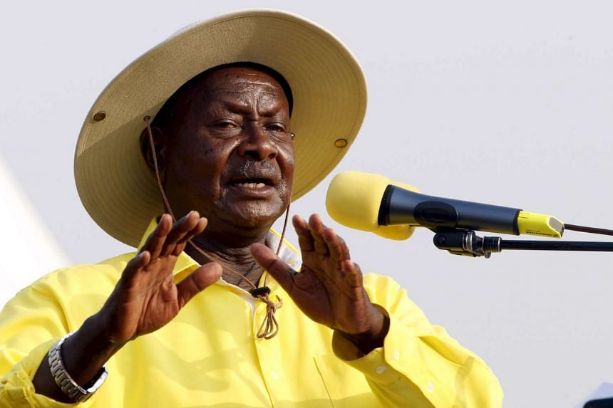 President Yoweri Museveni, who remained in power after the Ugandan presidential election in February 2016.