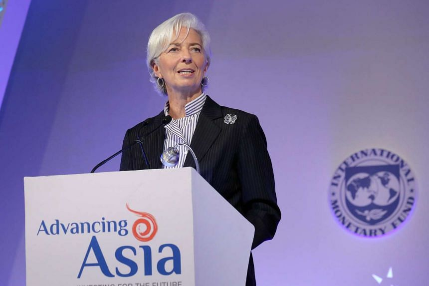 IMF Managing Director Christine Lagarde at the Advancing Asia conference on March 12, 2016.