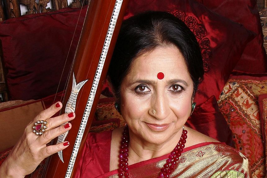 Classical vocalist Aruna Sairam (left) and a few of India's finest classical musicians will honour the late U. Srinivas (above) at the concert tomorrow night.
