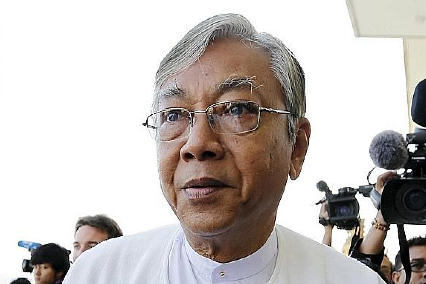 Mr Htin Kyaw is poised to lead Myanmar as a proxy for Ms Suu Kyi, who is constitutionally barred from being president.
