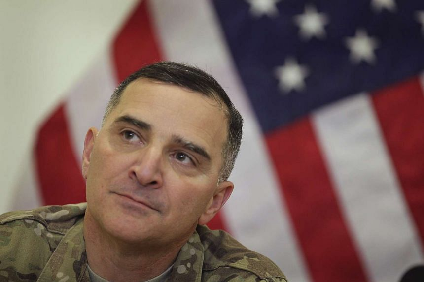 Scaparrotti (above) is currently commander of US forces in South Korea.