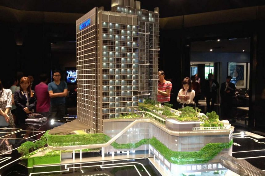 Cairnhill Nine, CapitaLand's latest residential project, has sold 70 per cent of the units launched on March 12, 2016.