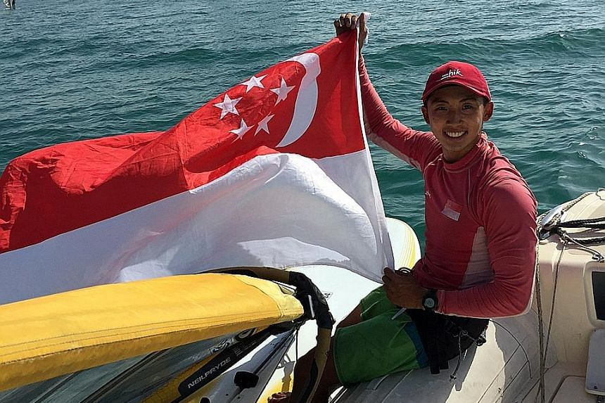 Should he be chosen, Leonard Ong will be the first windsurfer in 32 years to represent Singapore at the Olympics.