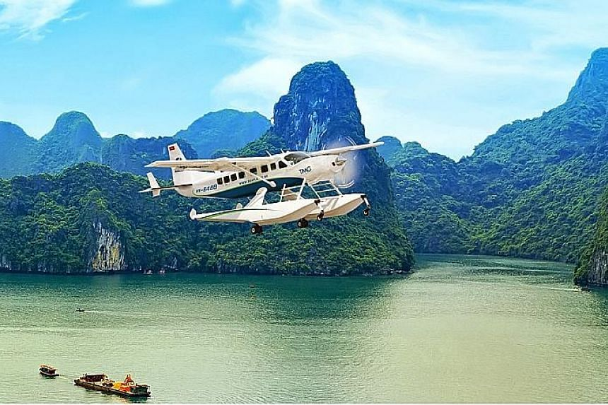 Get a bird's-eye view of Vietnam's Halong Bay with Paradise Hotels & Cruise.