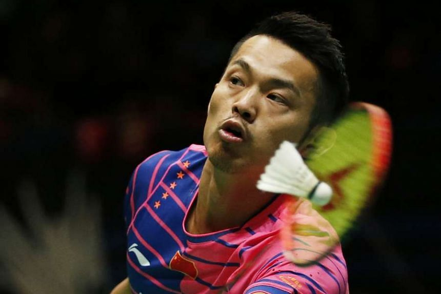Lin (above, in a file photo) came through a strange, soporific match by 18-21, 21-15, 21-9.