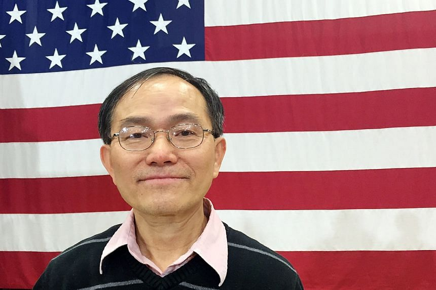 """Mr Fa Yeh, who made US his home after fleeing Vietnam with the """"boat people"""" in 1979, attended Hillary Clinton's rally in Cleveland on Mar 8."""