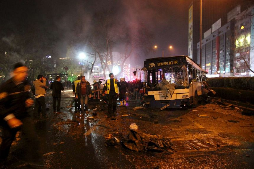 The death toll in a car bomb attack in Ankara has risen to 37 people, said Health Minister Mehmet Muezzinoglu on March 14, 2016.