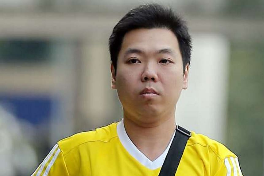 Chew Yeow Keong pleaded guilty to one count of outraging the modesty of a 20-year-old man.