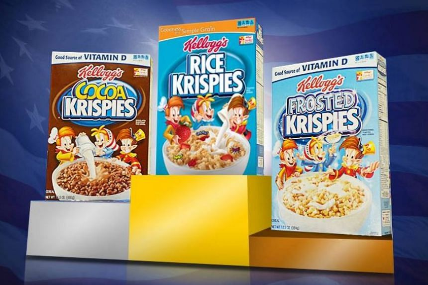 Kellogg's Rice Krispies products, which were reportedly compromised by a man who urinated on an assembly line.