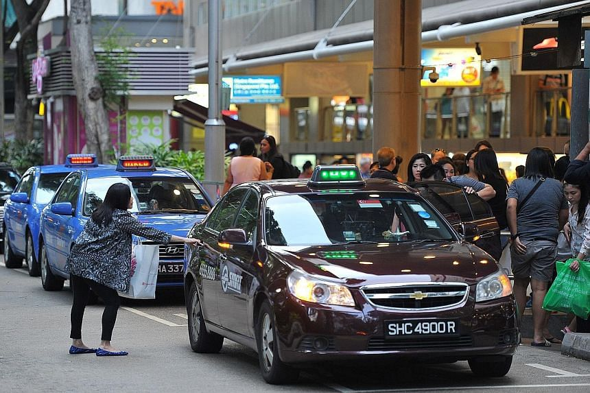 """The Land Transport Authority, which conducted the survey, says that while the service gap for waiting times still needs improvement, it has """"shown an encouraging trend of continued improvement""""."""