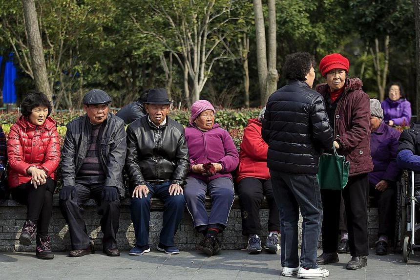 A poll of 1,000 elderly people, conducted last month in the eastern Suzhou city, showed 12.5 per cent had mental health disorders. Last year, China had more than 220 million people aged over 60, accounting for 16.1 per cent of the country's total pop