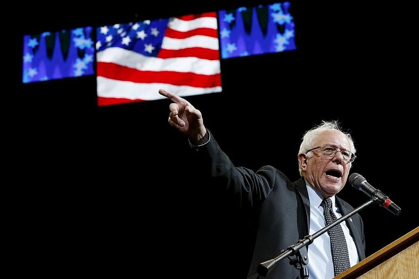 Senator Sanders has hammered Mr Trump for considering paying the legal fees of a supporter who had attacked a protester.