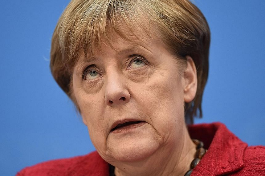 Dr Merkel's CDU suffered defeats in two out of three states in regional elections on Sunday, including its traditional stronghold of Baden-Wuerttemberg.