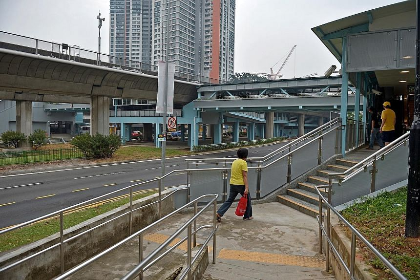 Lifts at the new pedestrian bridge at Clementi MRT station used to be closed at night when train services ended. Clementi residents with mobility needs had to find a different place to cross the road, which used to have a ground-level, barrier-free c