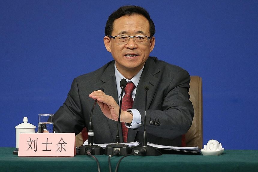 Mr Liu's performance was rated better than that of his predecessor by market watchers, who said his comments will stabilise expectations and ease worries about financing pressure.