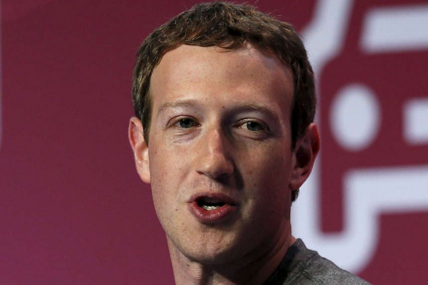 Mark Zuckerberg, founder of Facebook, delivers a keynote speech during the Mobile World Congress in Barcelona, Spain on Feb 22, 2016.