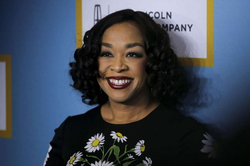 Shonda Rhimes has said that her writers were forced to change sections of dialogue after their lines were spoken at the US presidential debates.