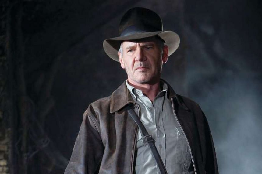 Cinema still from the film Indiana Jones and The Kingdom of Crystal Skull, starring Harrison Ford.
