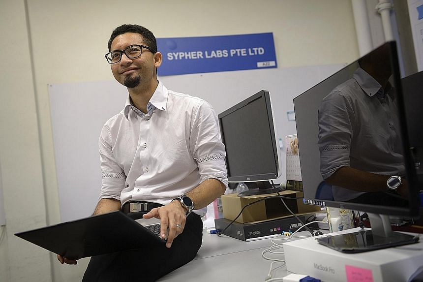 Mr Shamir started Sypher Labs in 2012 and managed to attract small logistics players to his product, VersaFleet, which is a cloud-based, simplified automating app that companies can use to manage their fleet of land transport vehicles.