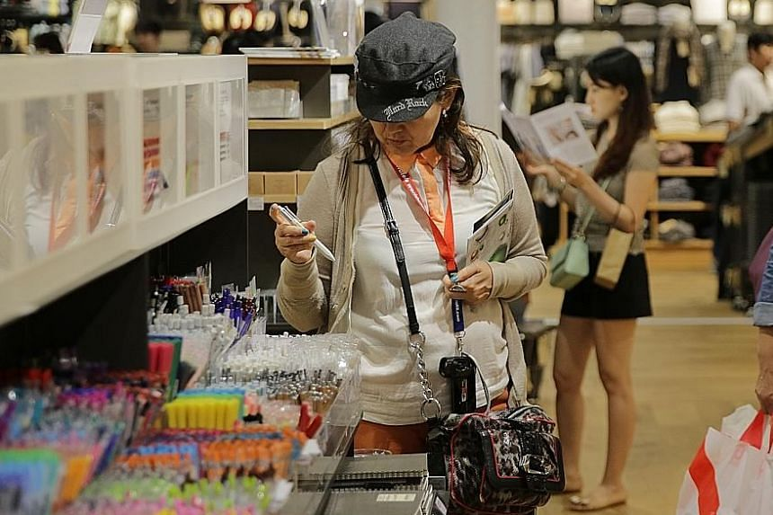 Economists said a spurt of activity ahead of the Chinese New Year could have lifted the retail sector.