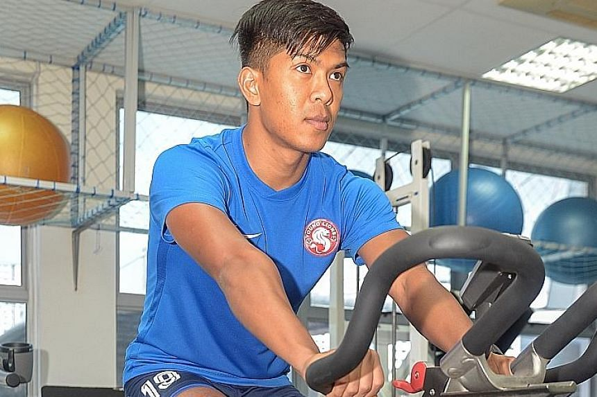 Singapore striker Khairul Amri has yet to play for the Garena Young Lions in the S-League this season due to injury. He looks set to miss the national team's coming World Cup qualifier against Afghanistan, with a place in the third qualifying round f