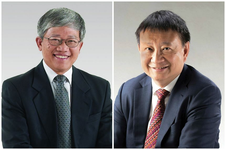 Mr Heng Chiang Gnee (left) will be taking over from Mr Lee Tzu Yang as chairman of the Workplace Safety and Health (WSH) Council.