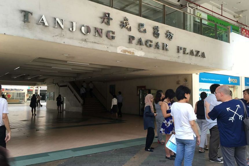 Tanjong Pagar Plaza, part of Tanjong Pagar constituency that Mr Lee Kuan Yew represented  for nearly 60 years.