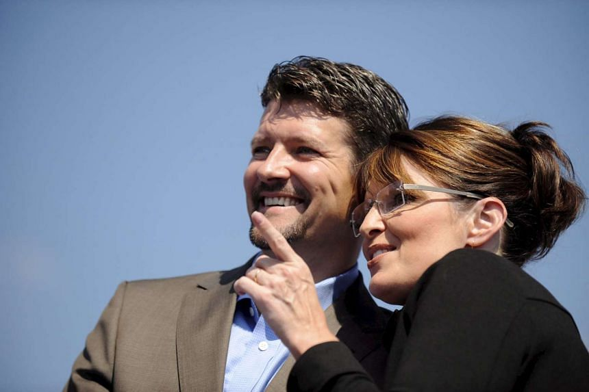 Sarah Palin and her husband Todd in a 2008 file photo.
