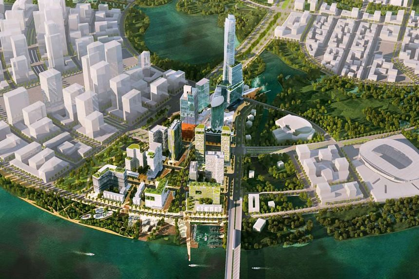Keppel Land and its partners will jointly develop a prime 14.6-hectare waterfront site in the Thu Thiem New Urban Area, located in District 2 of Ho Chi Minh City, Vietnam. The planned development will comprise premium residential apartments, office a