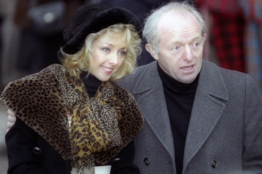 British television magician Paul Daniels (right) has died at the age of 77.