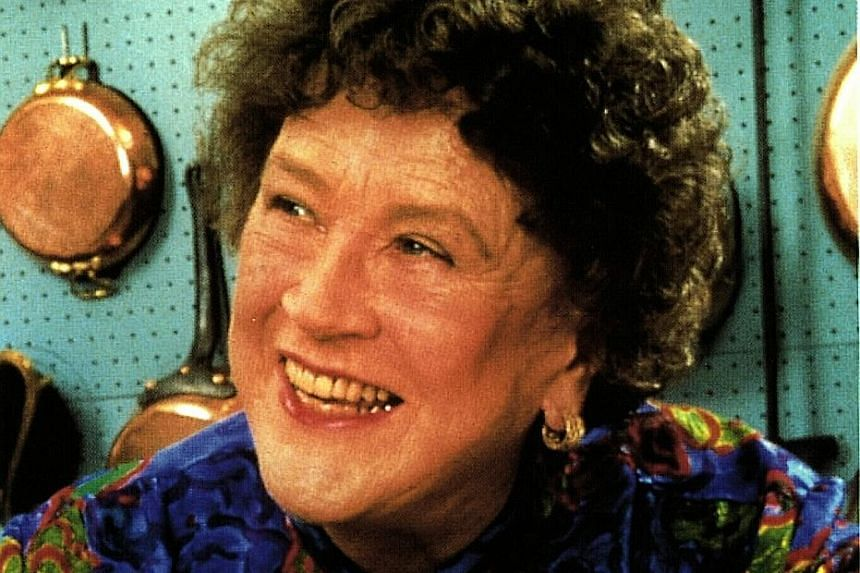 All 201 episodes of The French Chef, hosted by Julia Child (left), will be aired on Twitch, which is known for its live gaming matches.