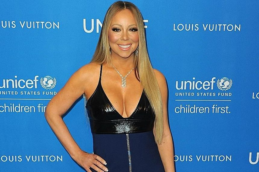 SINGER MARIAH CAREY (above), on why she is filming new documentary series, Mariah's World