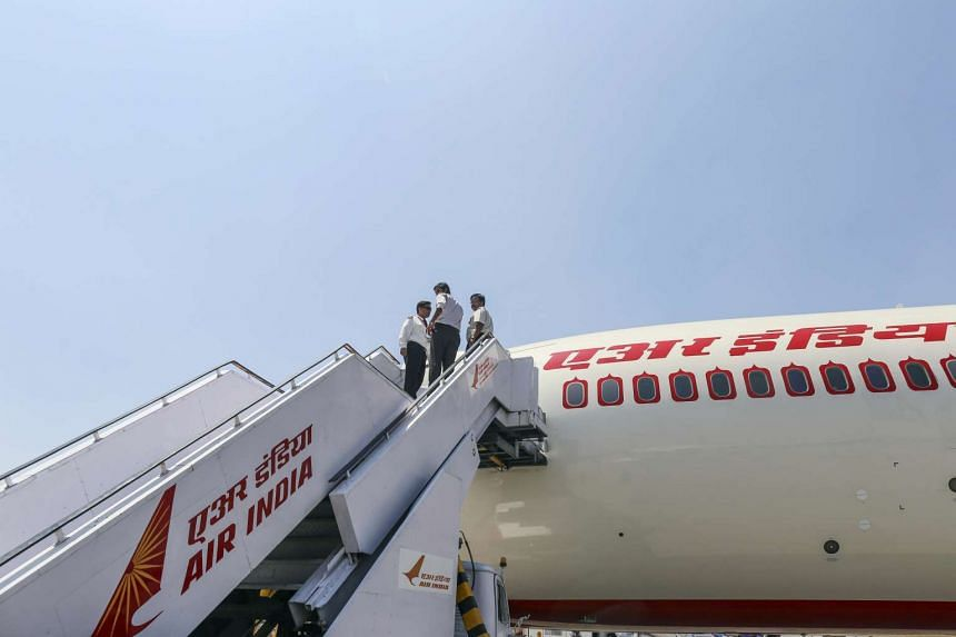 An Air India jet in a file photo.