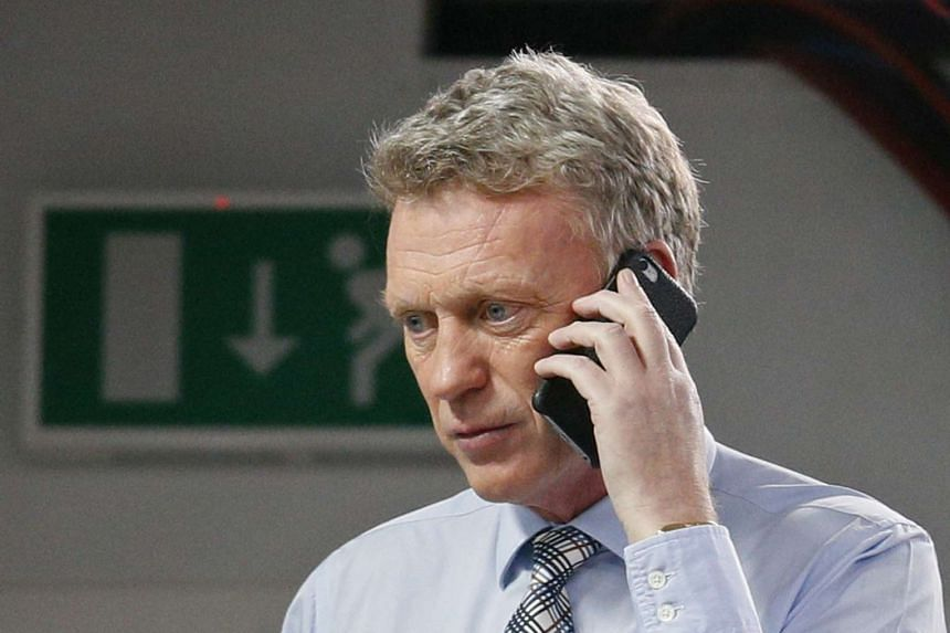 David Moyes before the Capital One Cup Semi Final match, on Jan 6, 2016.