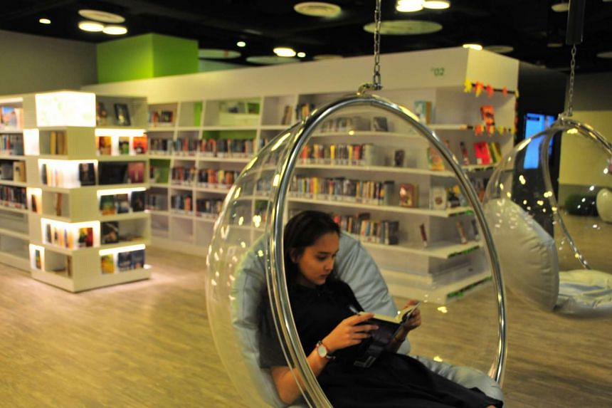 """A National Arts Council survey found that fewer than one in two Singaporeans have read at least one """"literary book"""" a year."""