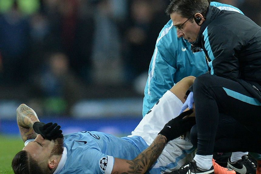 City centre-back Nicolas Otamendi fell victim to injury too, but his manager is more hopeful of a quick recovery for him.
