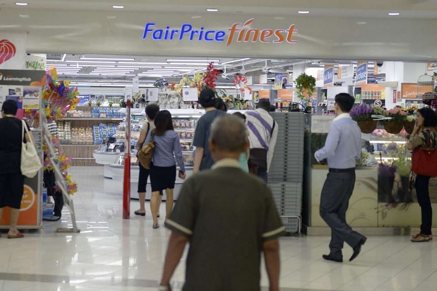 FairPrice's Green Rewards Scheme gave customers who spend a minimum of $10 and use their own bags a 10-cent rebate.