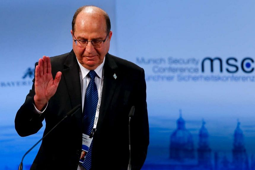Israeli Defence Minister Moshe Yaalon, speaks at the Munich Security Conference in Munich, Germany, on Feb 14, 2016.