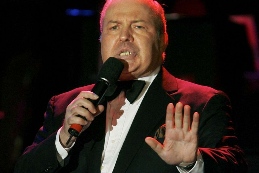 Singer Frank Sinatra Jr. performing at the 15th annual Society of Singers ELLA Awards in Beverly Hills, California in this Sept 12, 2006, file photo. Frank Sinatra Jr., the son of legendary actor and singer Frank Sinatra, has died, the Peabody Audito