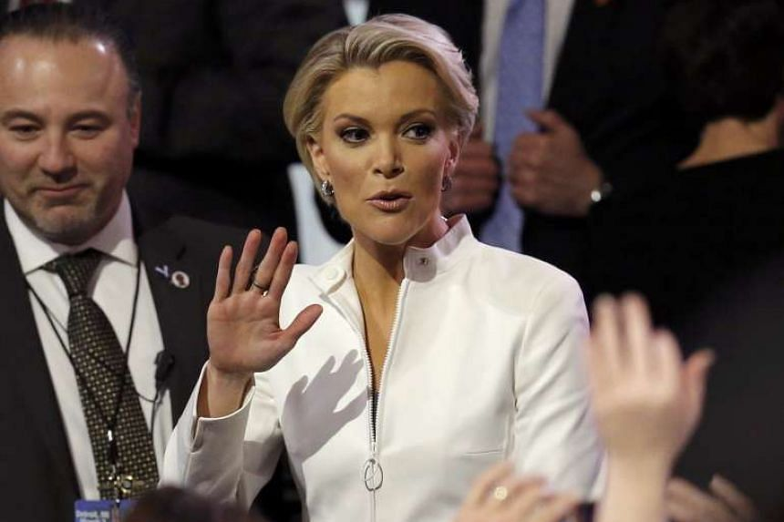 """Trump fired off three tweets targeting """"crazy"""" Megyn Kelly (above)."""