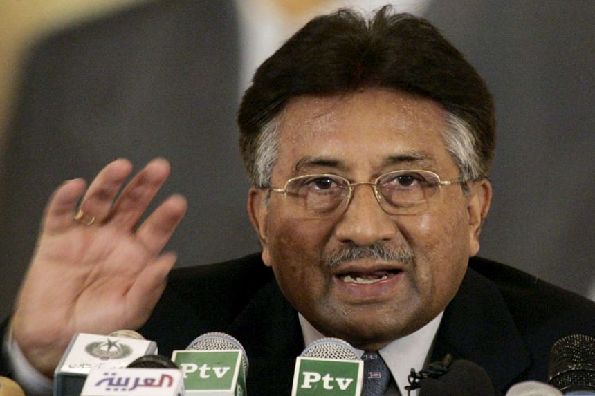 Pakistan's former president Pervez Musharraf in a 2007 file photo.