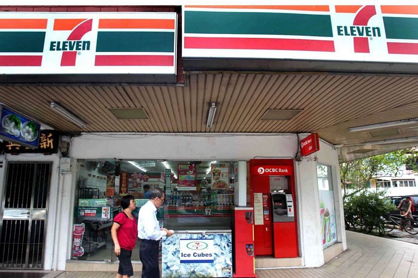 OCBC Bank customers can now withdraw up to $100 at a time when they buy items at 7-Eleven stores here.