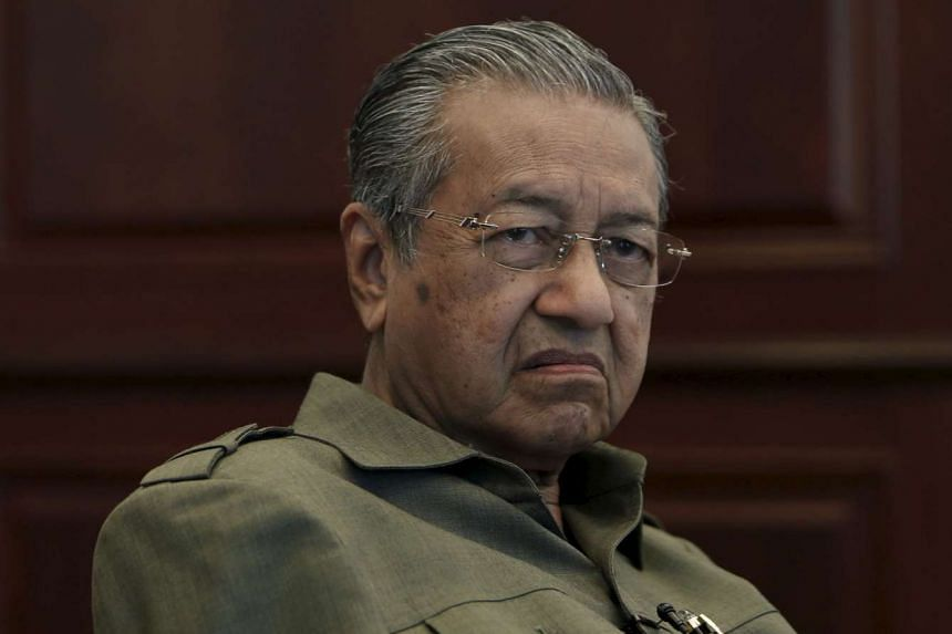 Former Malaysian prime minister Mahathir Mohamad at his office in Kuala Lumpur in 2013.