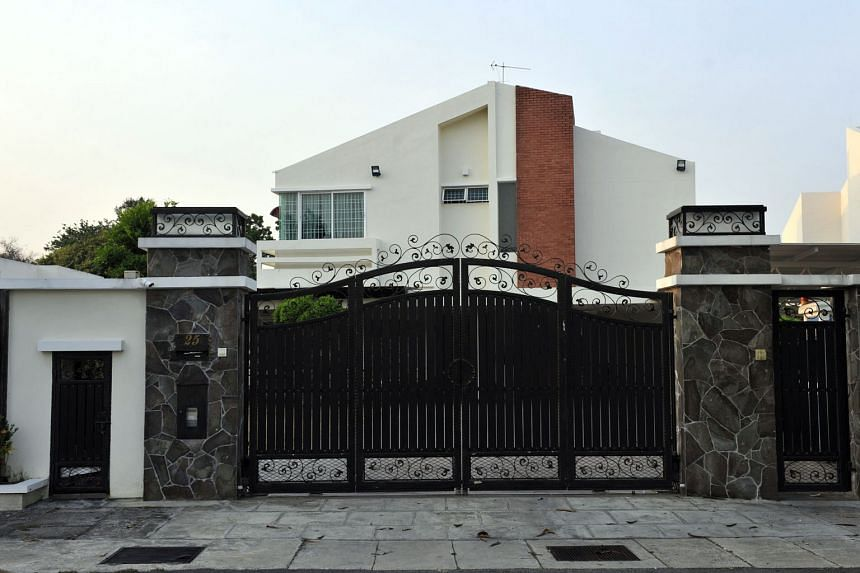 Chief Minister Lim's bungalow in Jalan Pinhorn (above) was bought for RM2.8 million. Umno MP Shabudin has alleged that its actual value is RM6 million, alluding to corruption at the highest level of the Democratic Action Party.