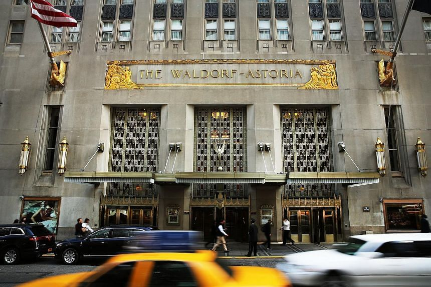 The Waldorf Astoria, a landmark New York hotel, is among the global assets that China's Anbang Insurance Group has snapped up in just 18 months. At home, it astounded the insurance world by expanding its capital to 62 billion yuan (S$13 billion) from