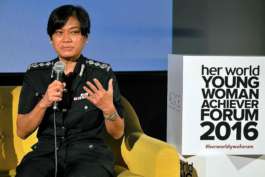 Senior Assistant Commissioner of Police Zuraidah Abdullah is one of the panellists who shared their experiences and gave career advice at the Her World Young Woman Achiever Forum.