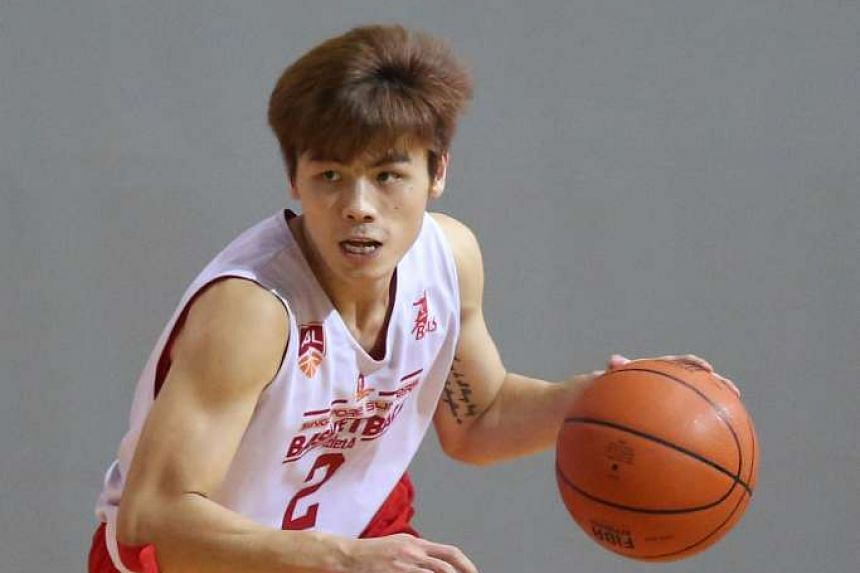 Singapore Slingers player Desmond Oh.