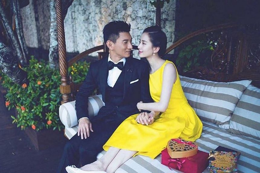 Actors Nicky Wu and Cecilia Liu Shishi got married in Bali on March 20, 2016.